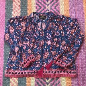 Natalie Martin Lola blouse size small